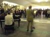 Ausstellungseröffnung 2007 in der Berliner Philharmonie