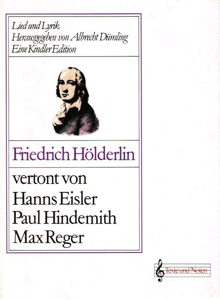 Friedrich Hölderlin vertont von